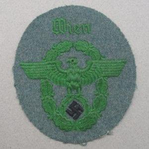 Police Sleeve Eagle - Wien