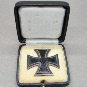 Cased 1939 Iron Cross First Class by Friedrich Orth