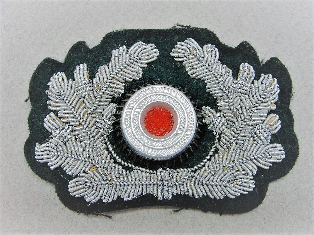 Army Officer's Visor Cap Wreath