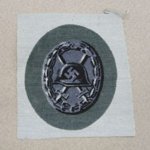 1939 Wound Badge, Black Grade, Cloth Version