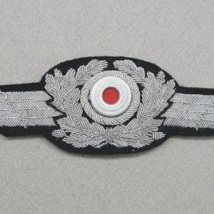 Luftwaffe Visor Cap Wreath