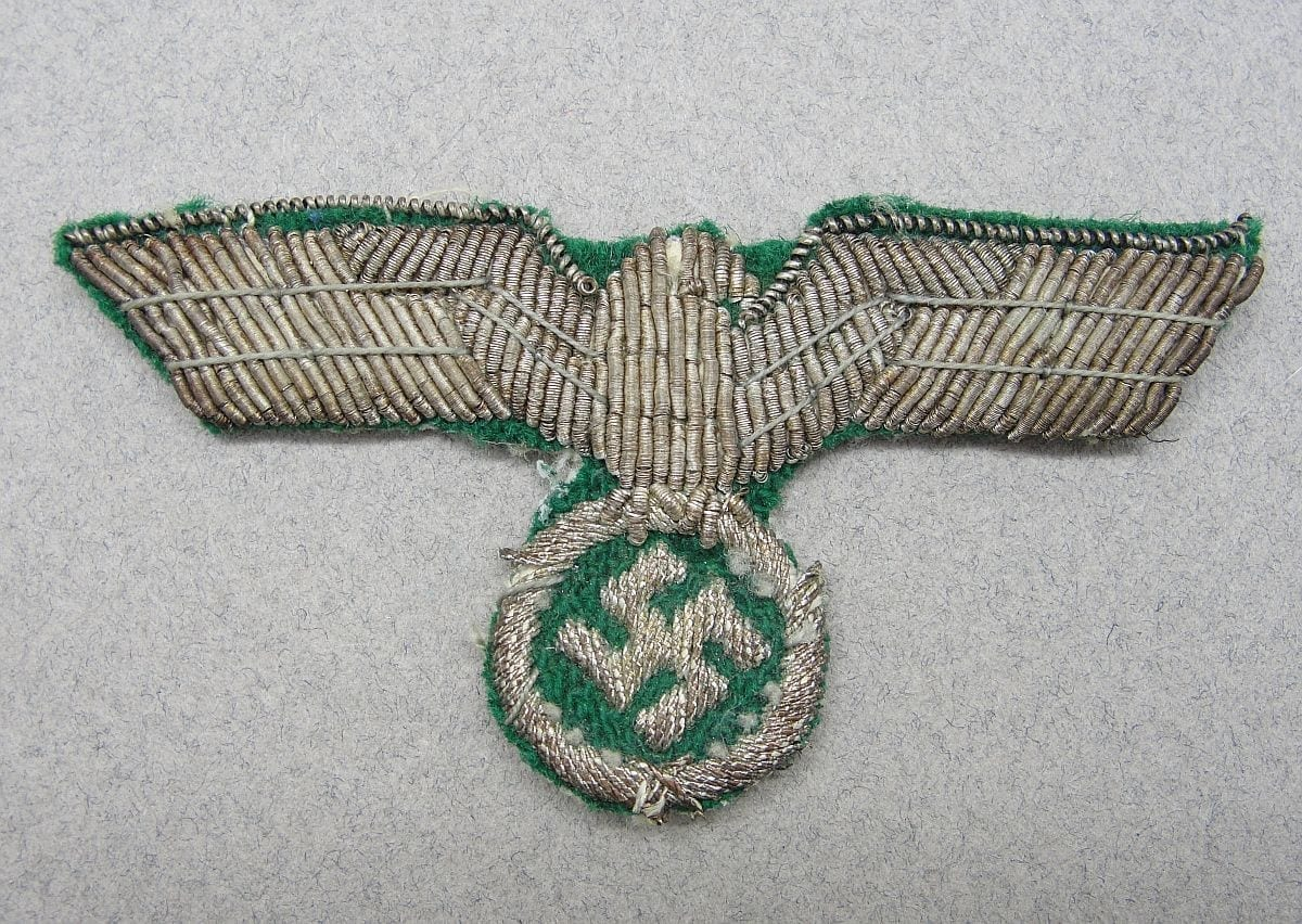 Army Officer's Cap Eagle - Foreign Made