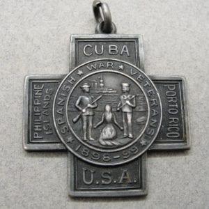1909 Spanish American War Veterans Medal