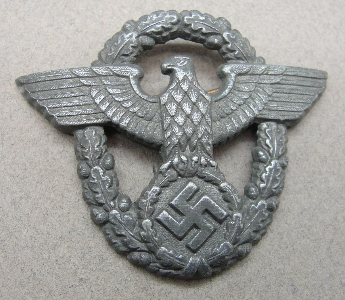 Police Visor Cap Eagle by Assmann