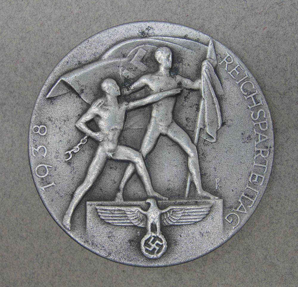 1938 Reichsparteitag Badge