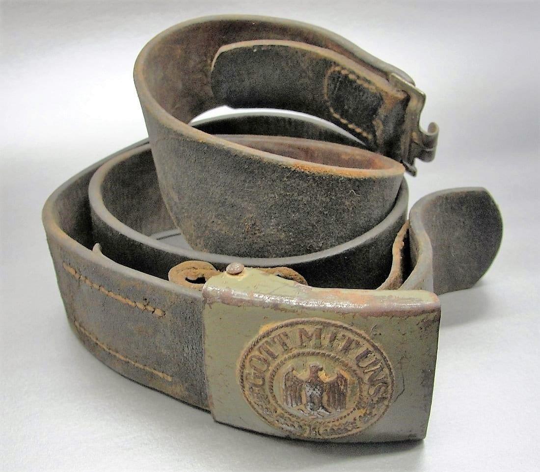 Army EM/NCOs Belt and Buckle