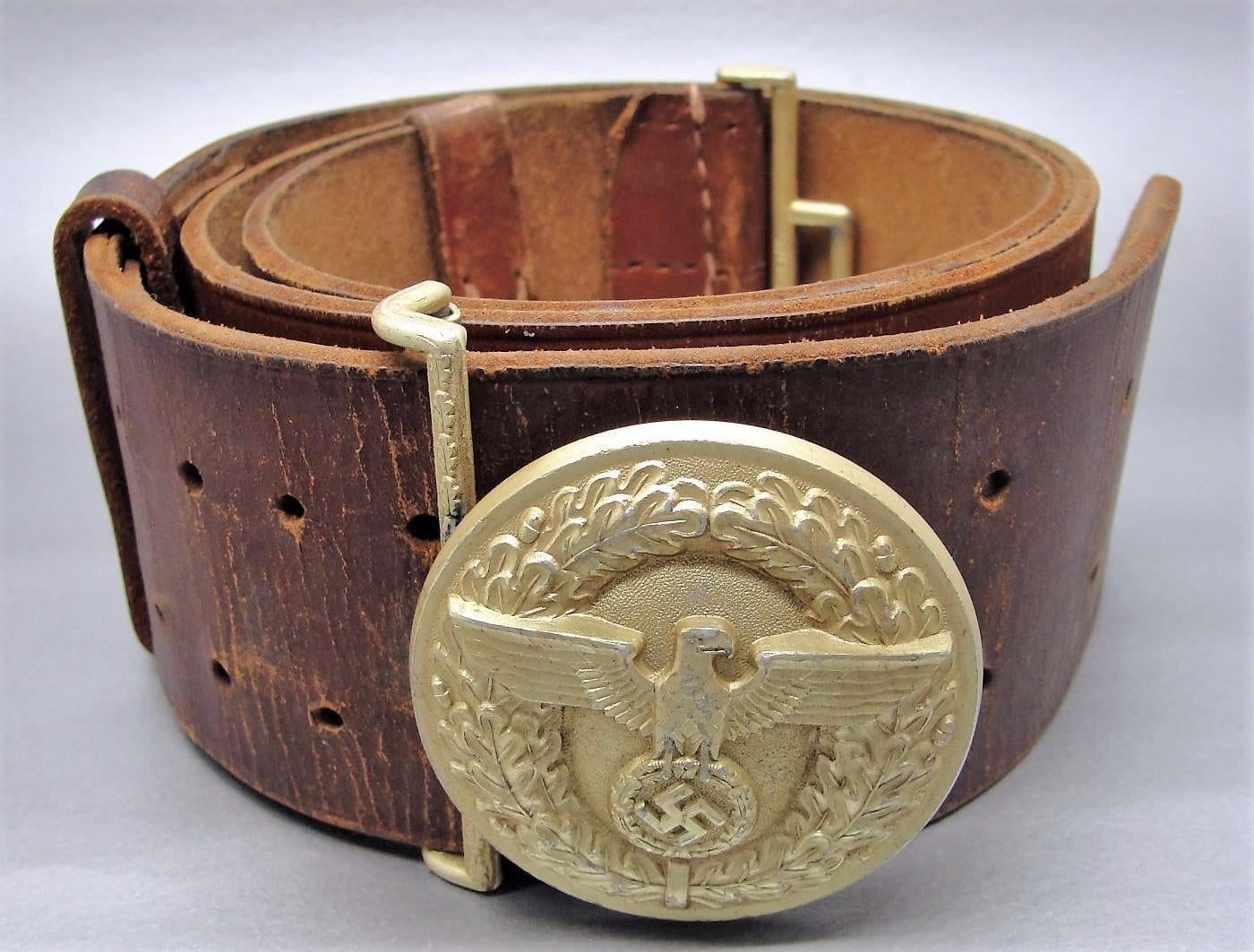 Political Leader's Belt and Buckle