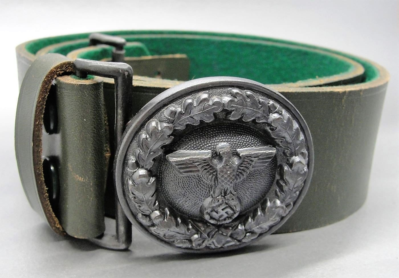 National Forestry Official's Belt and Buckle