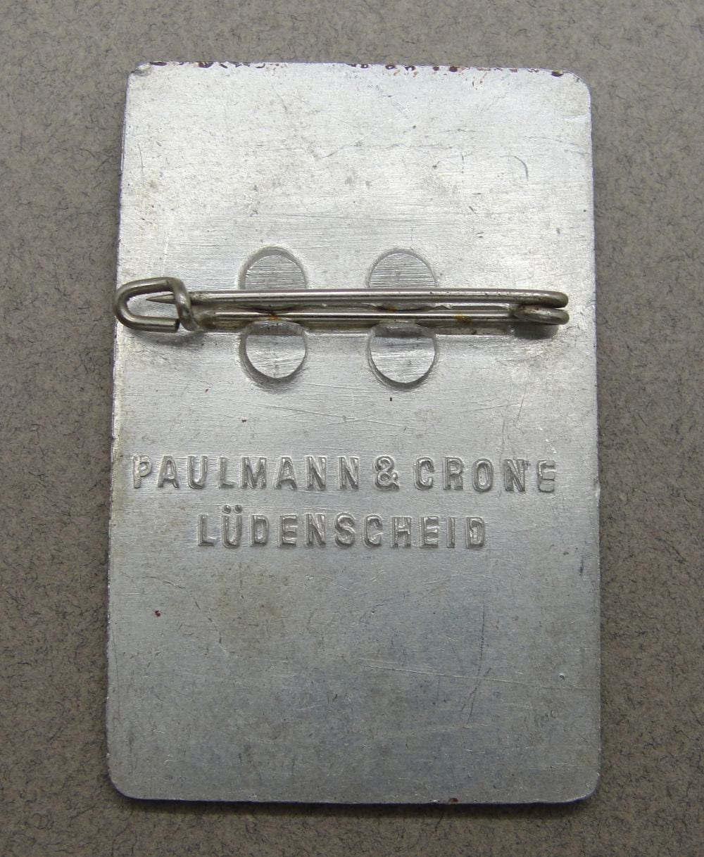 1937 Deutsches Sängerbundesfest Breslau Day Badge
