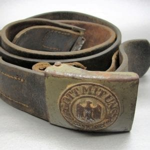 Army EM/NCOs Belt and Buckle