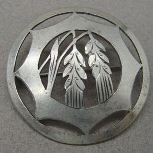 Silver Harvest Broach