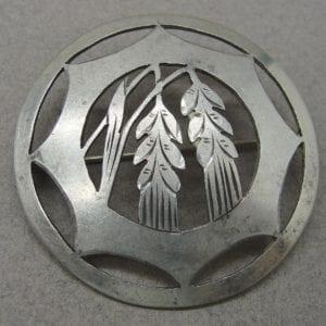 Silver Harvest Broach