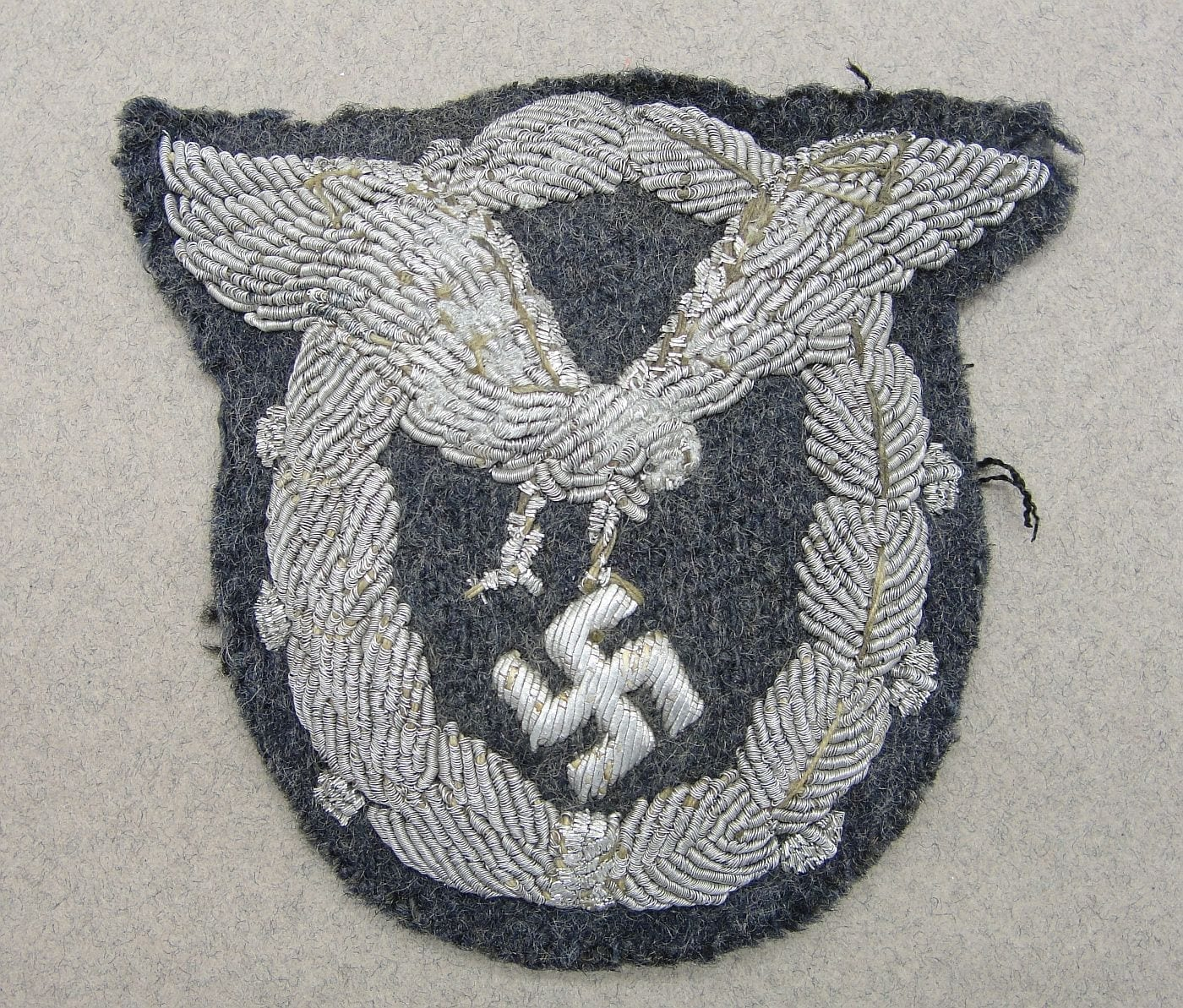 Luftwaffe Pilot's Badge in Bullion