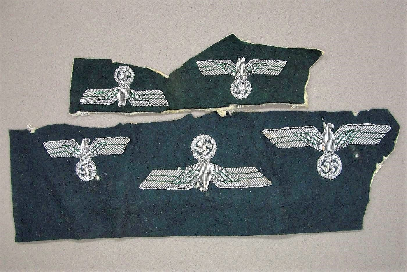 5 Army Officer's Bullion Eagles - Uncut and Un-Issued