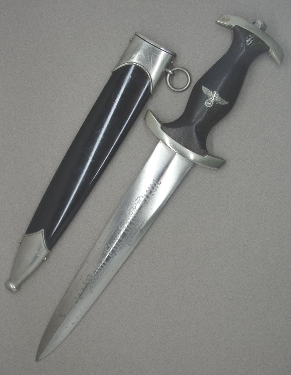 Early Model 1933 SS Dagger by SS 120/34 RZM