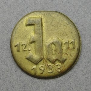 1933 Ja NSDAP Election Badge
