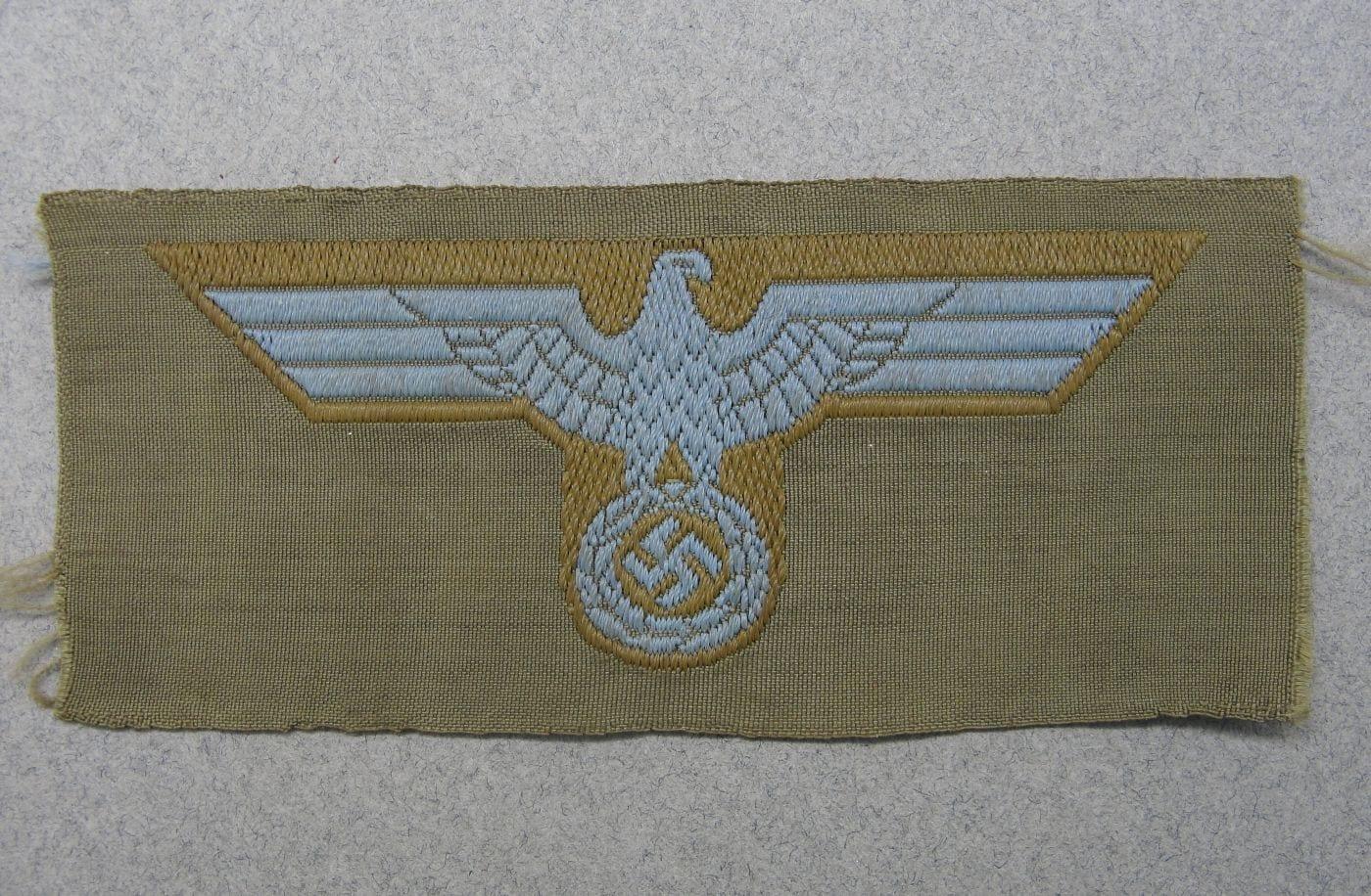 Army Tropical EM/NCO's Bevo Cap Eagle