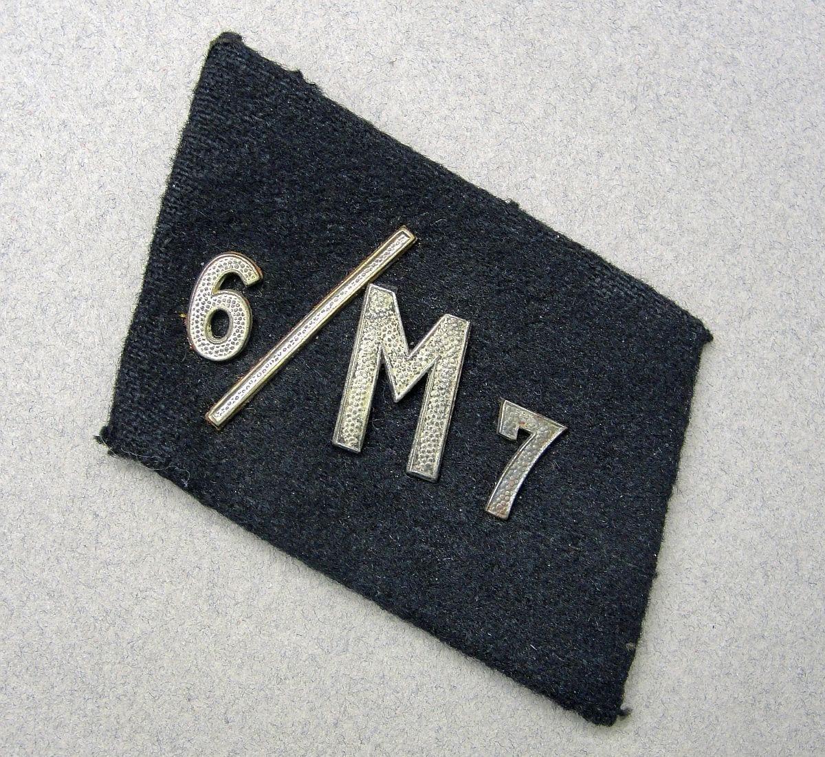 NSKK Collar Tab