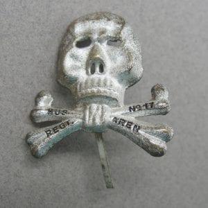 Brunswick Cap Skull Marked - HUSAREN REGT. No. 17