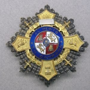 Spanish War Cross as Awarded to Members of the Condor Legion