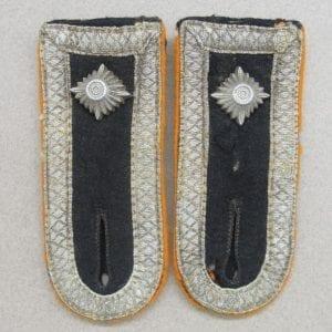 Waffen-SS Field Police Oberscharführer Shoulder Boards