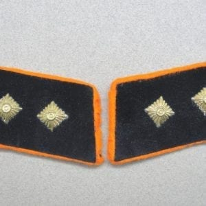 Reichspost Officials Collar Tabs