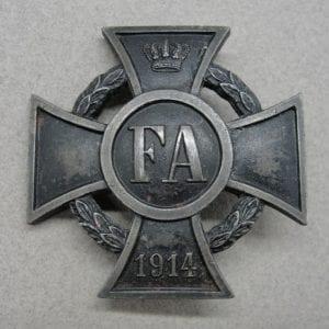 Germany - Oldenburg Duchy WW1 Friedrich's August II Cross, 1st Class, 1914 - 1918