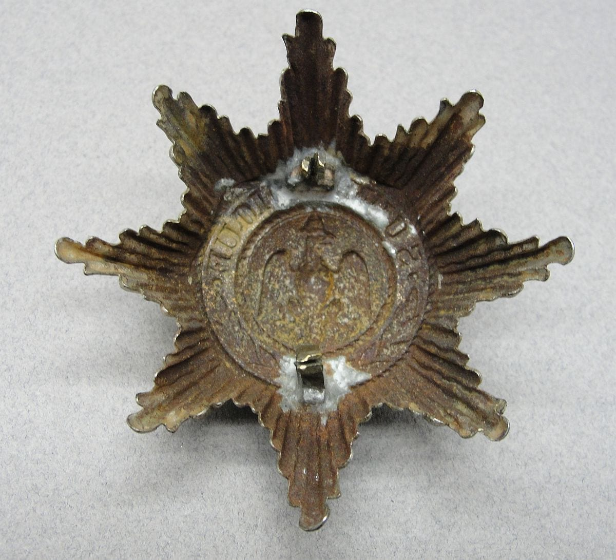 Imperial German Elite Guard's Units Helmet Star