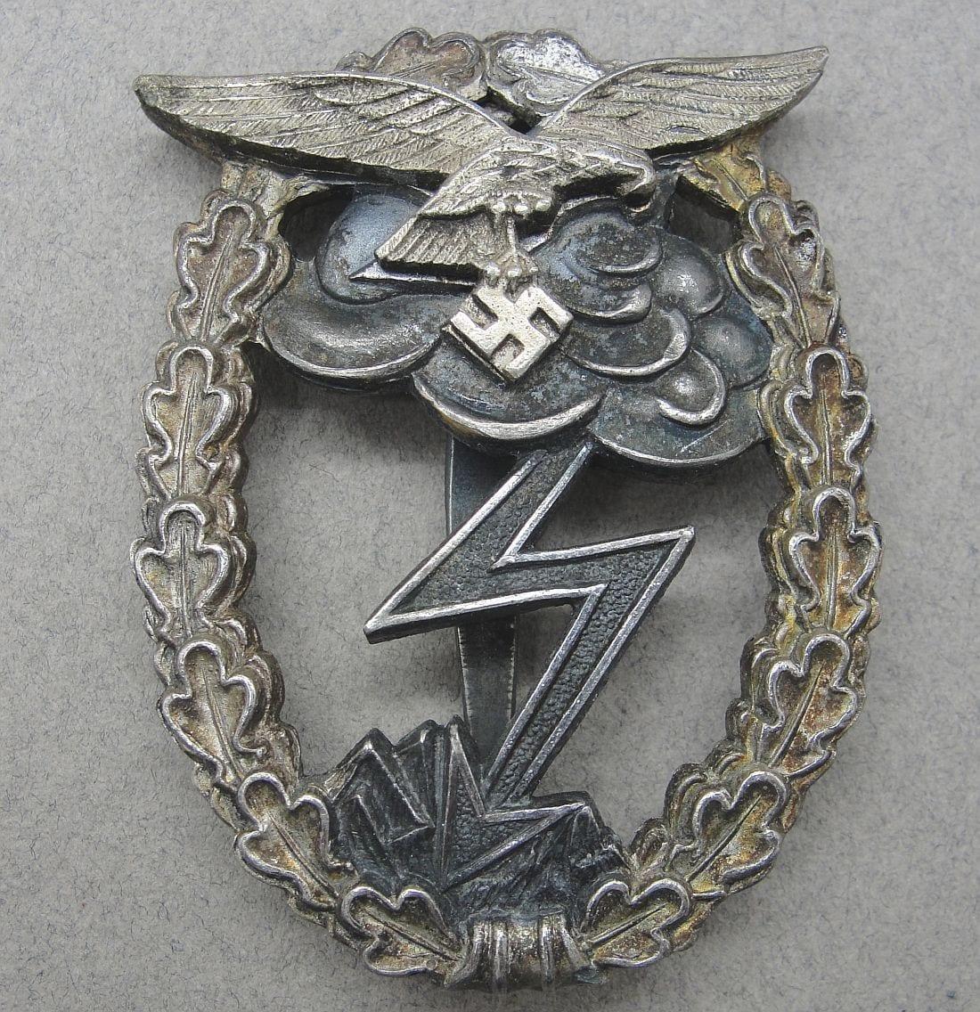 """Luftwaffe Ground Assault Badge by """"M.u.K.5"""""""