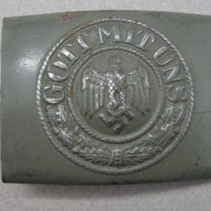 "Army EM/NCOs Belt Buckle by ""R.S.& S."""