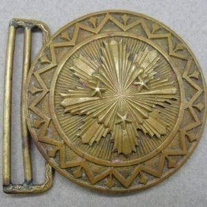 Latvia Officer's Belt Buckle