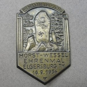 1934 Martyr Horst Wessel Badge