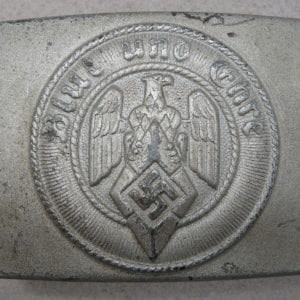 "Hitler Youth Belt Buckle by ""RZM M4/79"""
