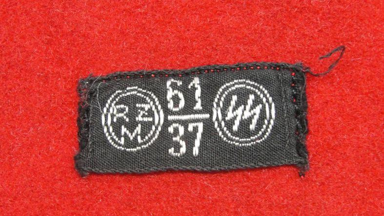 SS Armband with Cloth SS RZM Tag