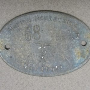 Nordholz Naval Airbase ID Tag