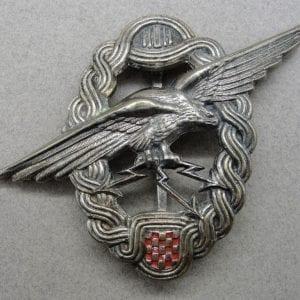 Croatia WW2 Navigator and Observer Badge