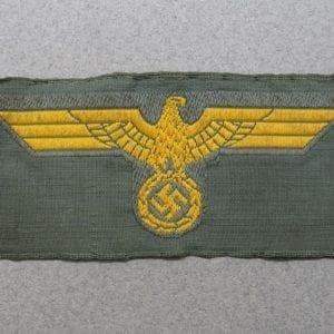 Kriegsmarine Coastal Artillery Cap Eagle