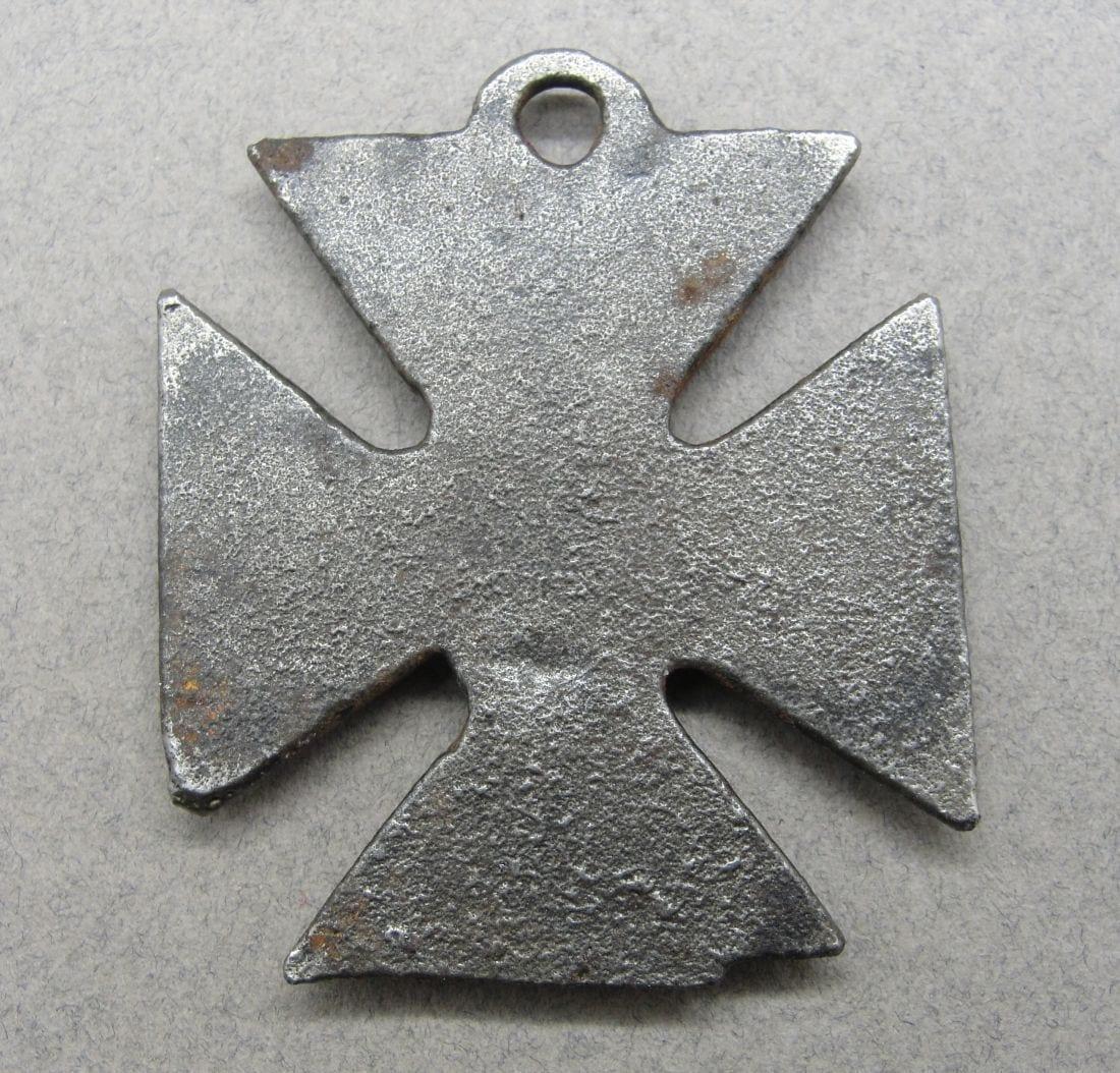 "Anti-German ""Iron Kaiser's Cross"" Medal"