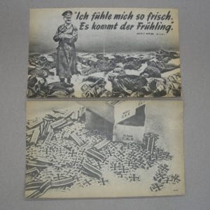 Lot of 2 Propaganda Leaflets