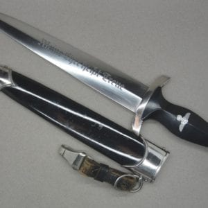 Transitional SS Model 1933 Dagger by RZM 941/39 Carl Eickhorn Stunner !