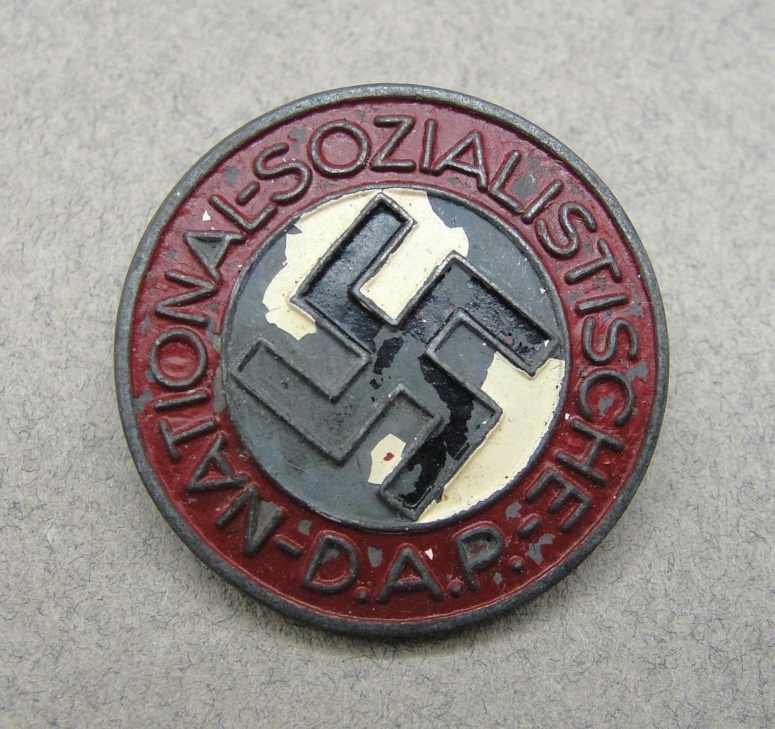 "NSDAP Membership Badge by ""RZM M/100"""