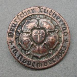 1933 Lutheran Day Badge