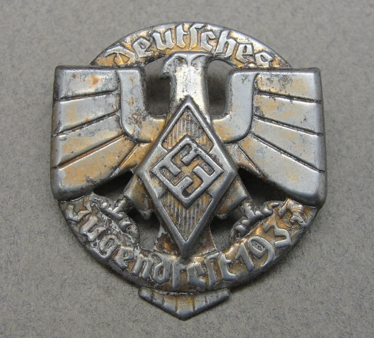 1937 Hitler Youth Tinnie