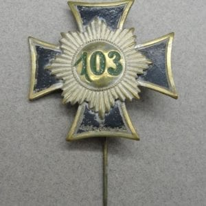 103 Regiment Badge