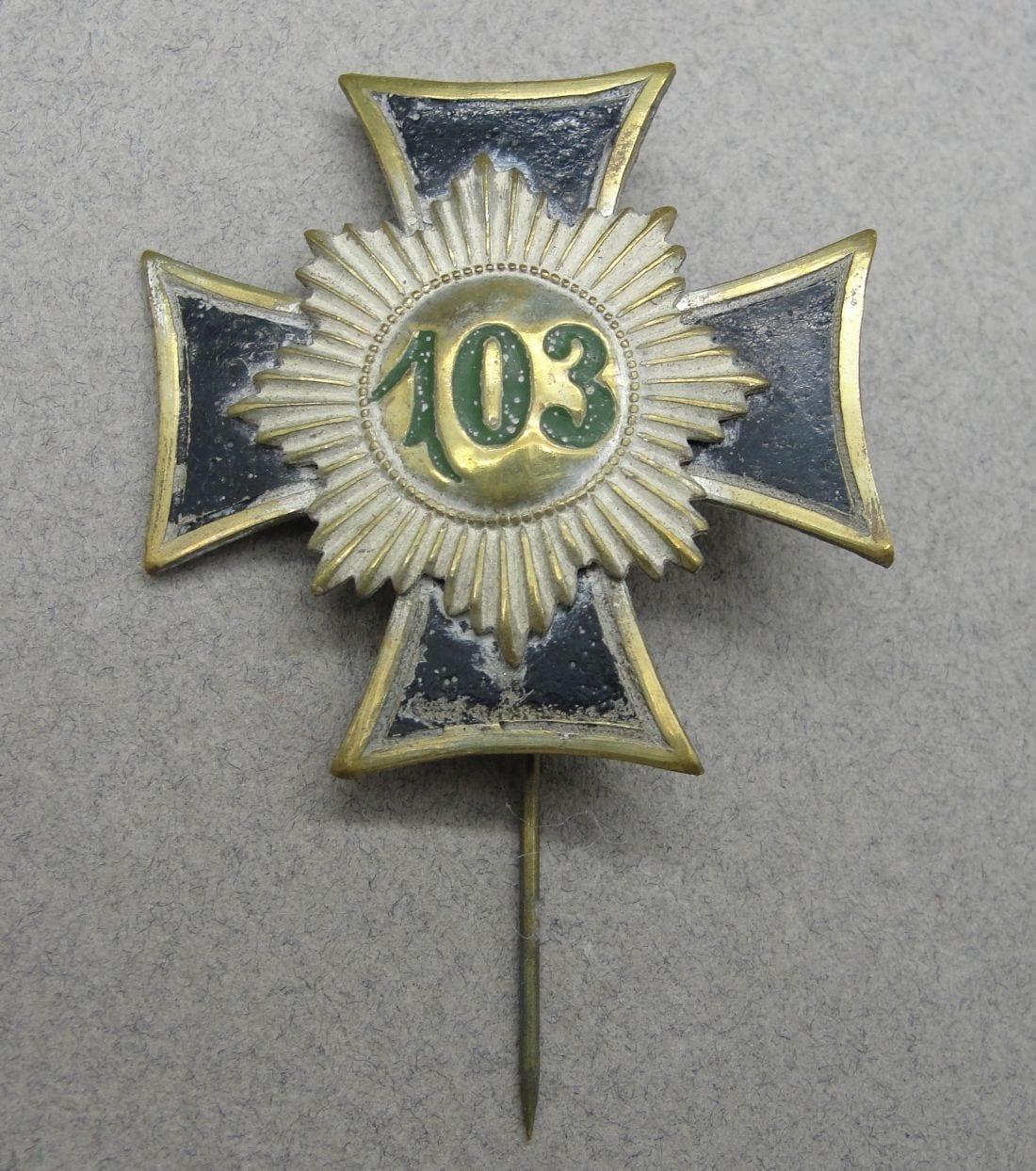103 Regiment Badge