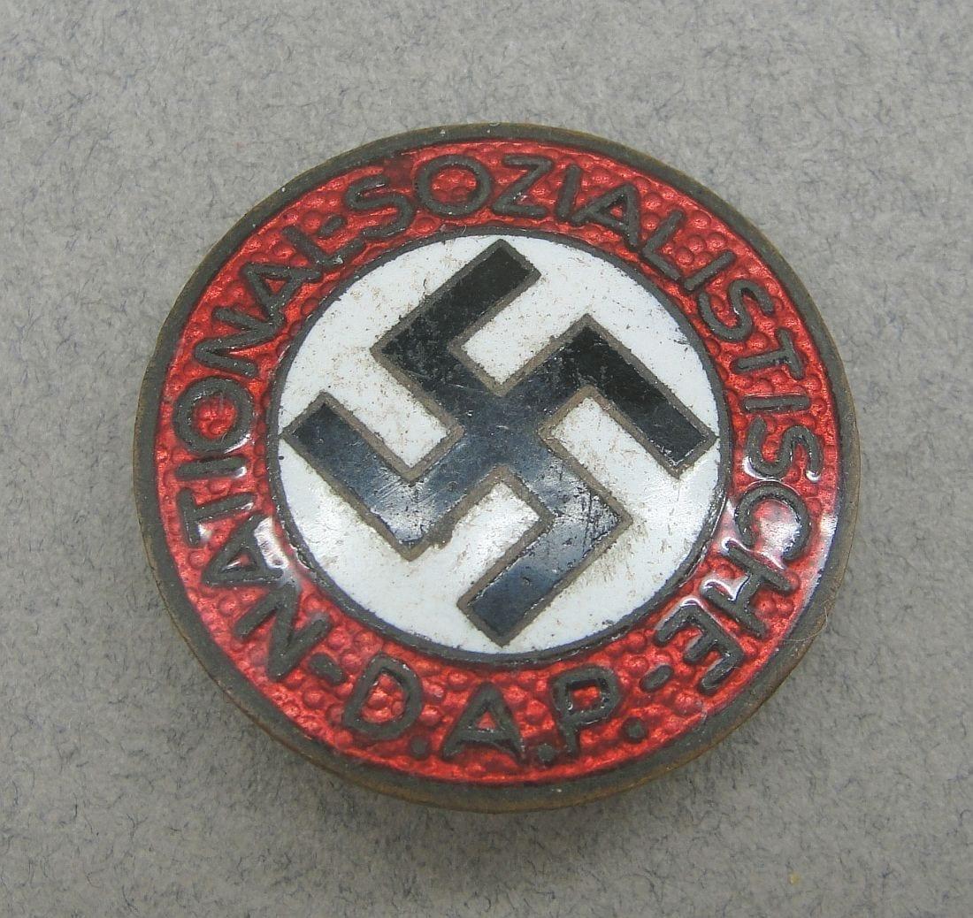 "NSDAP Membership Badge by ""RZM M1/93"""