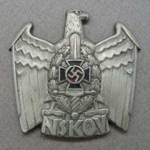 NSKOV Cap Badge