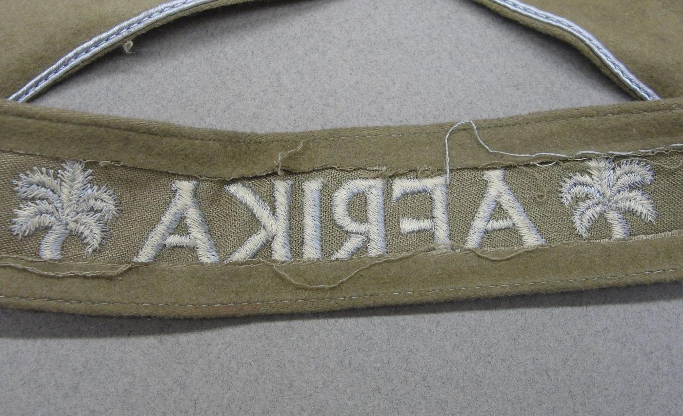 """""""AFRIKA"""" Campaign Cuff Title"""