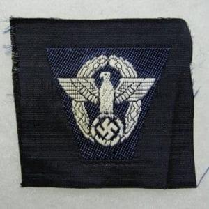 Police EM/NCO's Cap Eagle, Dark Blue